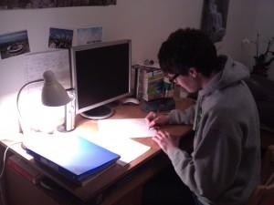 Valentin au bureau (2012)