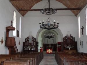 L'église de la Ferté, où a été baptisé le petit Daniel Brottier