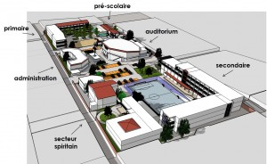 Le projet de reconstruction du collège