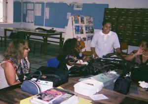 En Martinique avec l'équipe professorale du collège
