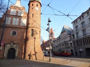 Dans le centre historique de Bydgoszcz
