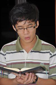 Prière à la communauté spiritaine de Saigon, Vietnam