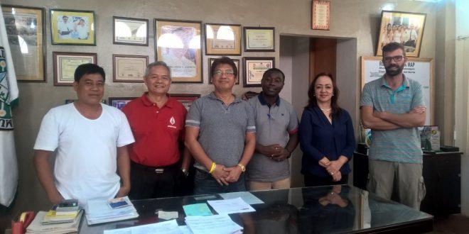 Rencontre avec la mairie de Kauswagan en vue d'un possible partenariat